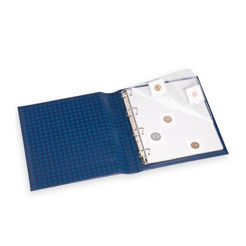 Pochettes plastiques 20 cases pour pi ces de monnaie - Album photo pochette plastique ...