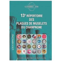 13eme Répertoire Lambert - Edition  2016