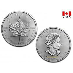 Maple Leaf 1oz - 5 dollars Canada 2015