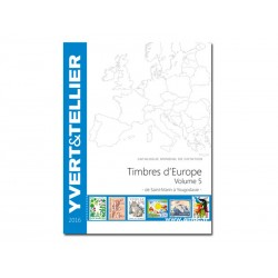 Catalogue Europe Vol 4 - édition 2016 Yvert et Tellier