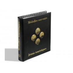Album OPTIMA pour médailles souvenirs avec 5 pochettes OPTIMA