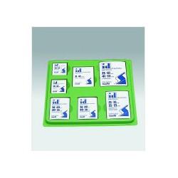 L'assortiment de pochettes pour timbres de France
