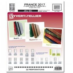 Jeu France 2017 - 1er semestre SC - YVERT ET TELLIER