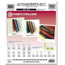 Jeu SC France 2017 Auto adhésifs 1er semestre -YVERT ET TELLIER