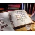 France Feuilles spéciales timbres autocollants entreprises 2017 LINDNER