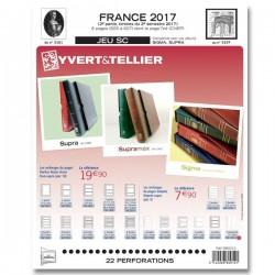 Jeu France 2017-2ème semestre SC YVERT ET TELLIER
