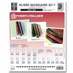 Jeu Musée Imaginaire SC 2017 YVERT ET TELLIER