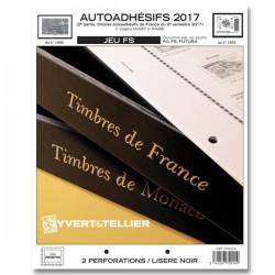 Jeu France FS 2017 2ème semestre Auto adhésifs YVERT ET TELLIER