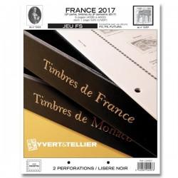 Jeu France FS 2017 2ème semestre YVERT ET TELLIER