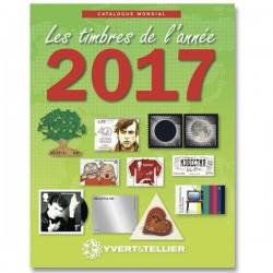 Catalogue Mondial des Nouveautés 2017 YVERT ET TELLIER