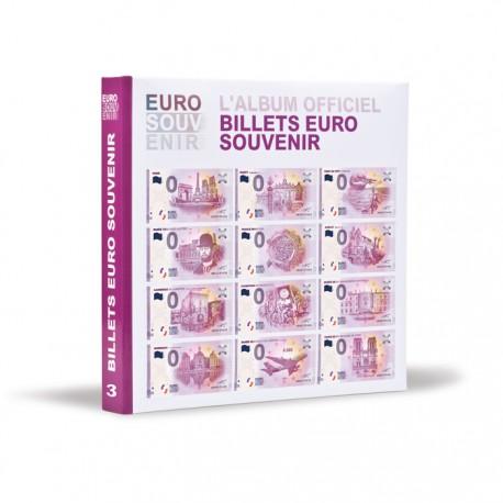 Album imprimé pour billets « Euro Souvenir », tome 3