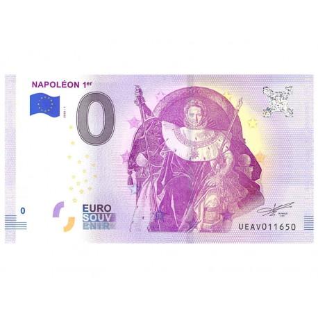 Billet Euro Souvenir - Napoléon 1er/2018