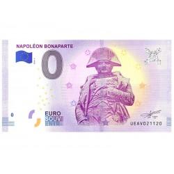 Billet Euro Souvenir - Napoléon Bonaparte 2018