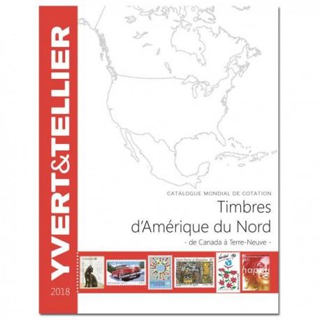 Catalogue AMÉRIQUE DU NORD 2018 - YVERT ET TELLIER