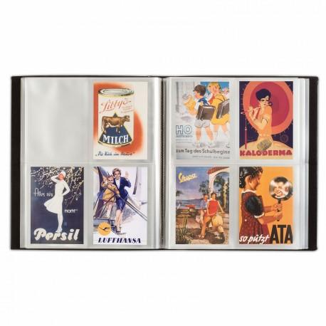 Album pour 400 cartes postales noir