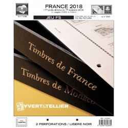 Jeu France FS 2018 1er semestre YVERT ET TELLIER
