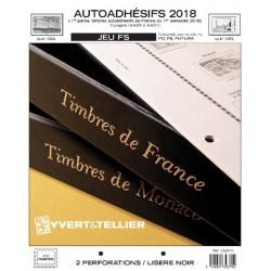 Jeu France FS 2018 1er semestre  Auto adhésifs YVERT ET TELLIER
