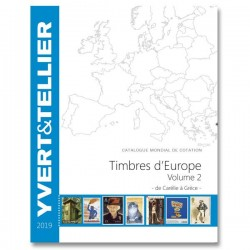 Catalogue Europe Vol 2 - édition 2019 Yvert et Tellier
