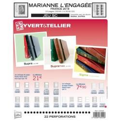 Jeu France 2018-2ème semestre SC YVERT ET TELLIER
