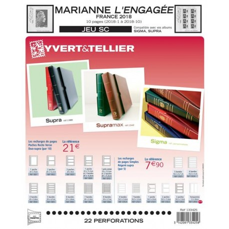 Jeu  SC France 2018 MARIANNE L´ENGAGEE