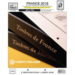 Jeu France FS 2018 2ème semestre YVERT ET TELLIER