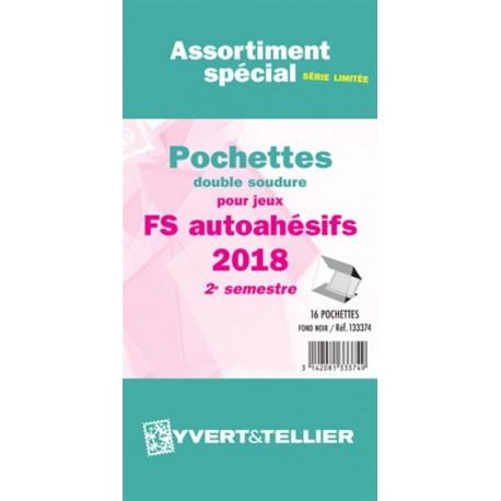 Assortiment de pochettes Auto Adhésifs 2018 FS 2ème semestre (double soudure)