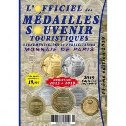 L'OFFICIEL des Médailles SOUVENIR EVM et MONNAIES de PARIS