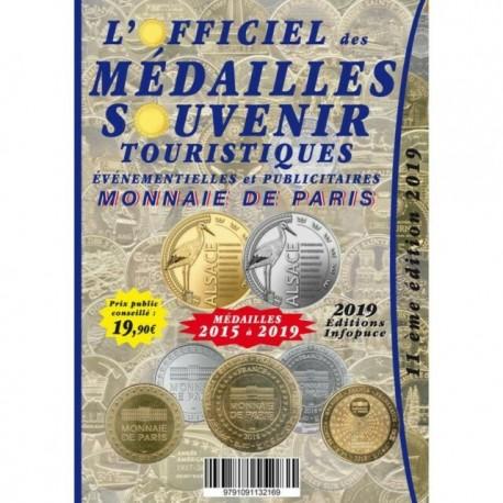 L'officiel de Médailles-Souvenir : supplément 2019