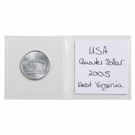 Pochettes numismatiques x 2