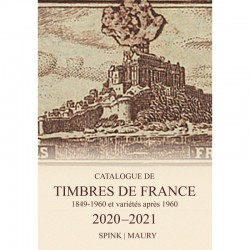 Catalogue de cotaton Spink - Maury France 2020 - Timbres de France