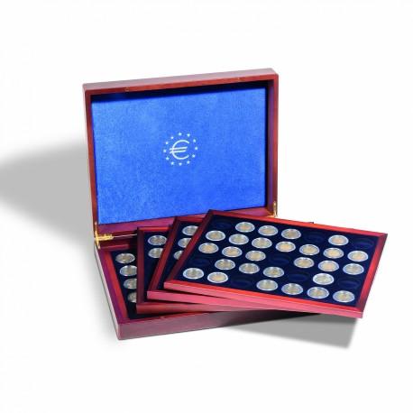 Coffret VOLTERRA QUATTRO de Luxe pour 140 pièces de 2 euros