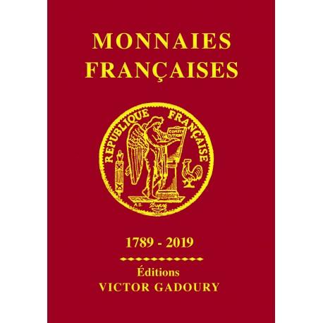 Monnaies Françaises depuis 1789 à 2019