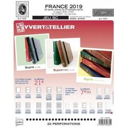 Jeu  SC France 2019 2ème semestre YVERT ET TELLIER