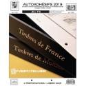 Jeu France FS 2019 2ème semestre Auto adhésifs YVERT ET TELLIER