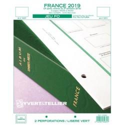 Jeu France FO 2019 2ème semestre YVERT ET TELLIER