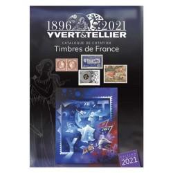 Catalogue Timbres de France - 2021  YVERT ET...