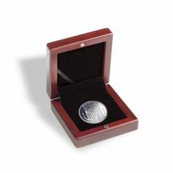 Ecrin numismatique pour 1 pièce de monnaie jusqu'à 41 mm ø