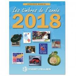 Catalogue des timbres de l'année 2018 -  YVERT ET TELLIER