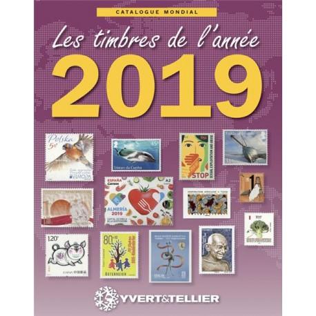 Catalogue des timbres de l'année 2019 -  YVERT ET TELLIER