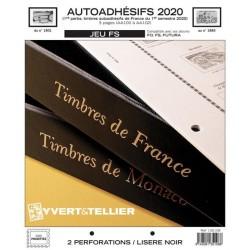 Jeu SC France 2020 Auto adhésifs 1er semestre -YVERT ET TELLIER