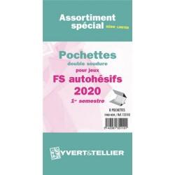 Assortiment de pochettes Auto Adhésifs 2017 FS 1ème semestre (double soudure)