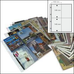 15 feuilles 4 poches 5471 pour album 7920