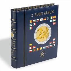 album numismatique pour pièces de 2 euros, vide