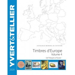 Catalogue Europe Vol 4 - édition 2020 Yvert et Tellier
