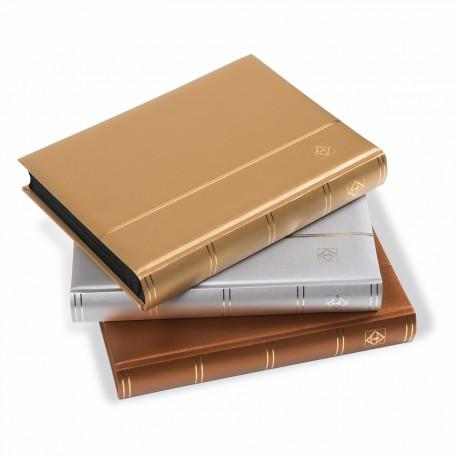 Classeur à bandes COMFORT, Din A4, 64 pages noires,édition métallique
