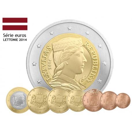 Série Euro Lettonie 2014 + série Lituanie 2015