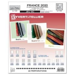 Jeu  SC France 2020 2ème semestre YVERT ET TELLIER