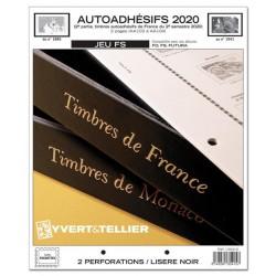 Jeu France FS 2020 2ème semestre Auto adhésifs YVERT ET TELLIER