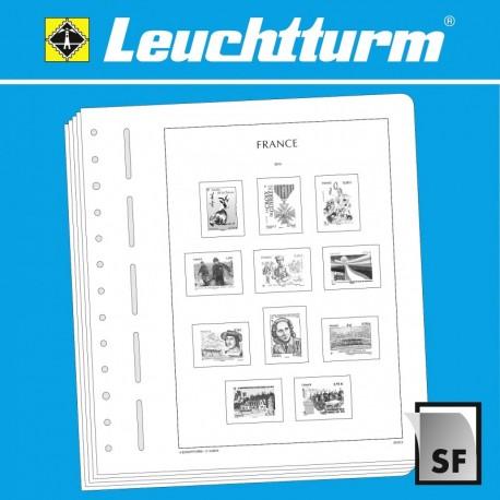 """LEUCHTTURM FEUILLES COMPLÉMENT. SF FRANCE-BLOCS """"EDITION SPÉCIALE"""" 2020"""