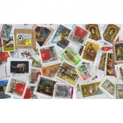 1 kilo de timbres tous pays